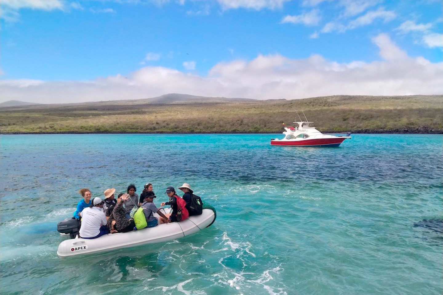 Galapagos Research Boat
